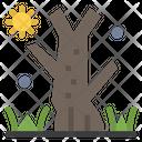 Horror Tree Scary Tree Halloween Tree Icon