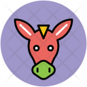 Horse Head Face Icon