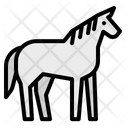 Horse Zoo Animals Icon
