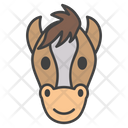 Horse Emoji Emoticon Animal Icon