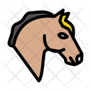 Horse Farming Animal Icon