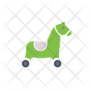 Horse Toys Playing Icon