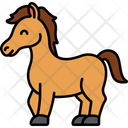 Horse Riding Pet Icon