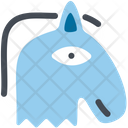 Horse Beast Blue Horse Icon