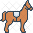 Horse Mustang Steed Icon