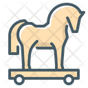 Horse Horse Cart Game Icon