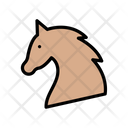 Horse Pet Forest Icon