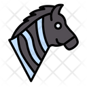 Horse Pet Zoo Icon