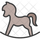 Horse Cradle Rocking Horse Icon
