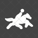 Horse Rider Sport Icon