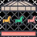 Horse Carousel Icon