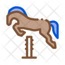Jumping Horse Equestrian Icon