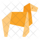 Horse Origami Horse Origami Icon