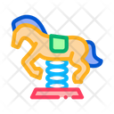 Horse Ride Children Icon