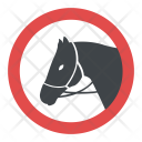 Horse Riding Warning Icon