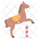 Equestrian Showjumping Dressage Icon