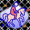 Horse Riding Horse Racing Icon