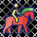 Horse Riding Horseback Riding Horserider Icon