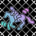 Horseback Horse Riding Icon