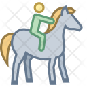 Horseback Riding Horse Icon