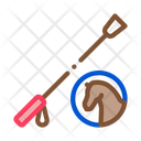 Horse Whip Tool Icon