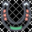 Horseshoe Metal Shoe Hoof Icon