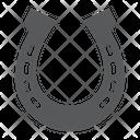 Horseshoe Horse Steel Icon