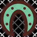 Horseshoe Horse Luck Icon