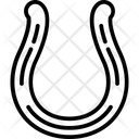 Horseshoe Magnet Shape Icon