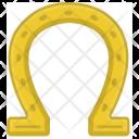 Horseshoe Shoe Luck Icon