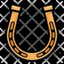 Horseshoe Belief Superstition Icon