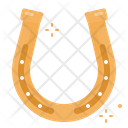 Horseshoe Belief Superstition Lucky Charm Goodluck Icon