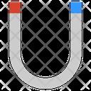 Horseshoe Magnet Magnetic Icon