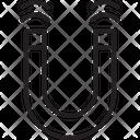 Horseshoe Magnet Icon