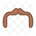 Horseshoe mustache Icon