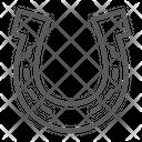 Horseshoe Lucky Talisman Icon
