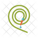 Hose Pipe Pipeline Icon