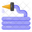 Water Pipe Hose Pipe Icon