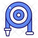 Hose Pipe House Rolled Icon