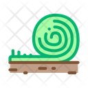 Rolled Artificial Turf Icon