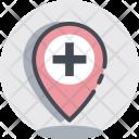 Hospital Location Medical Icon