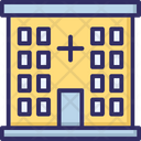 Hospital Building Clinic Dispensary Icon