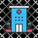 Hospital Healthcare Healthcare Center Icon