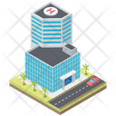 Hospital Building Building Clinic Icon