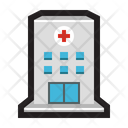 Hospital Bulding Structure Icon