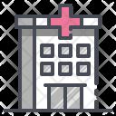 Hospital Building Health Icon