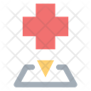 Hospital Pin Map Icon