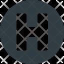 Hospital Sigh Symbol Icon