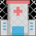 Hospital Cancer Virus Icon