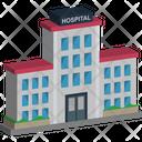 Hospital Building Medical Center Icon